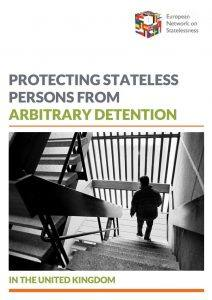 ENS Statelessness Detention Report UK